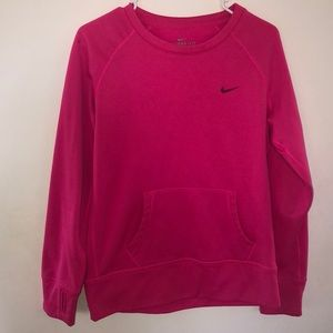 never worn, pink nike therma fit